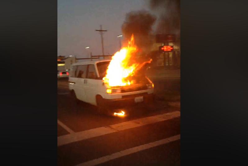 Eurovan FIRE!
