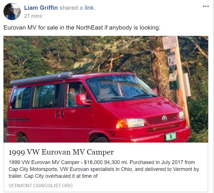 Eurovan for sale