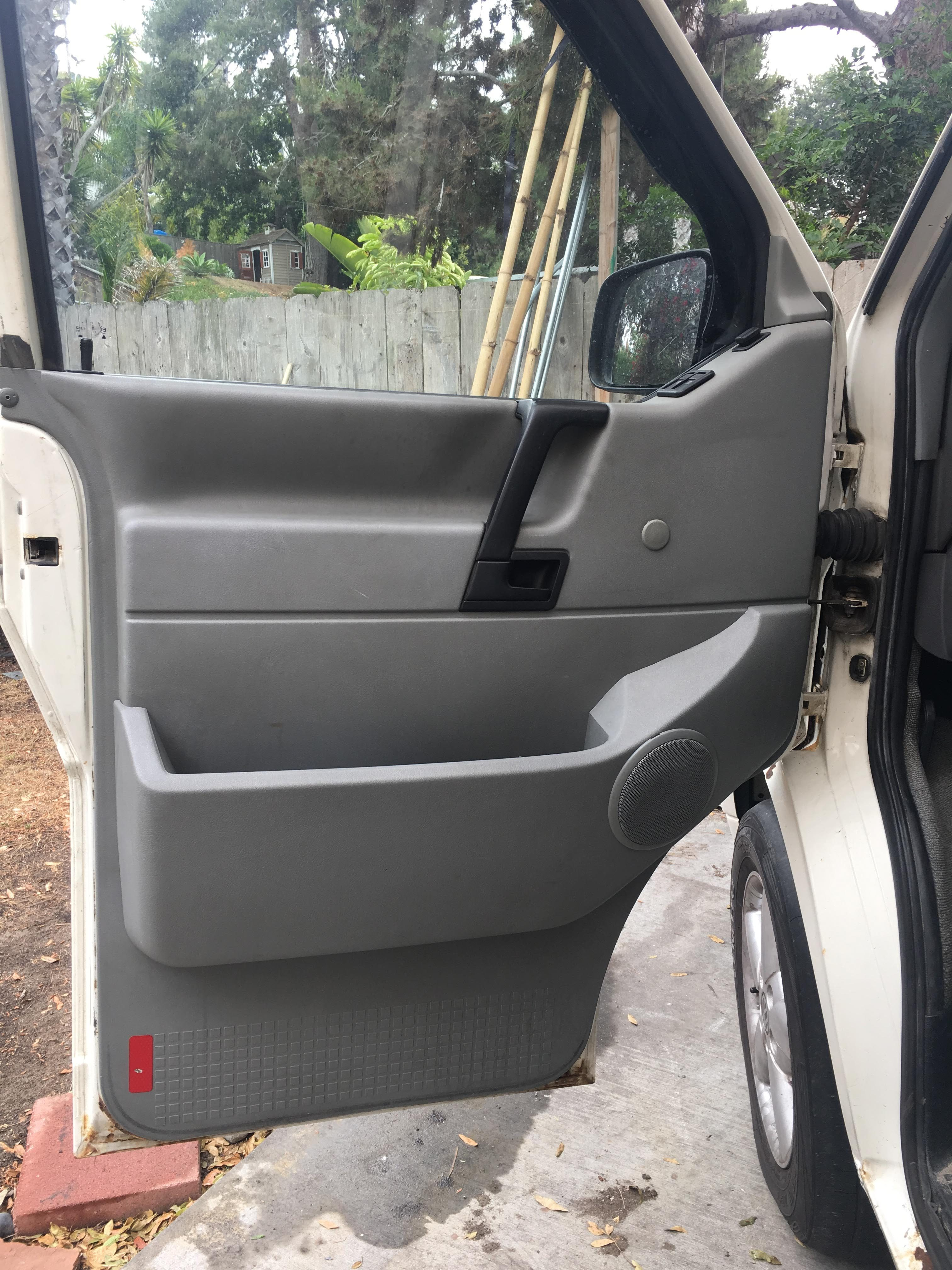 New (used) door cards